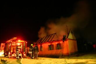 Incendiu violent intr-un cartier din Iasi