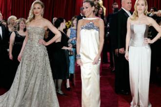 Frumoase sau urate? Gri, culoarea purtata de vedete la premiile Oscar 2010