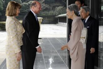 Traian Basescu, fata in fata cu romanii din Japonia