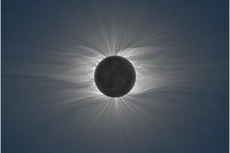 Eclipsa totala de soare din Pacific! IMAGINI IMPRESIONANTE