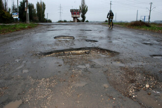 Premiera in Romania: statul refuza o lucrare de drumuri prost facuta