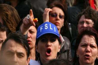 10.000 de sindicalisti din invatamant protesteaza miercuri in Capitala. Ce strazi vor fi inchise