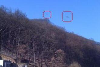 Extraterestrii invadeaza Romania! OZN-uri in Fagaras?