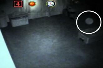 Ingroziti sa traiasca in propria casa, dupa ce au filmat o fantoma. VIDEO