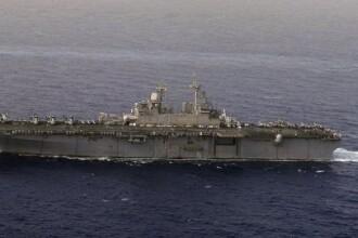 O nava de razboi americana, USS Kearsarge, se indreapta spre Libia