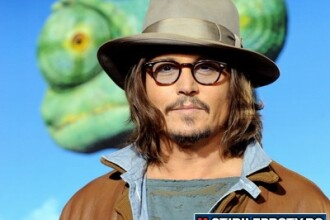 Johnny Depp si-a gasit vocatia: s-a facut cameleon-serif in