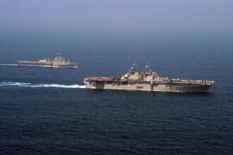 2 nave de razboi americane, in drum spre Libia: au traversat Canalul Suez