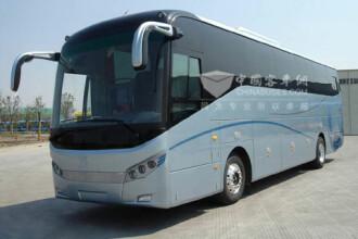Sorin Oprescu vrea in Bucuresti autobuze tip hibrid din China. FOTO