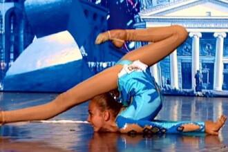 Romanii au talent: Ioana Roxana, contorsionista de 13 ani. VIDEO