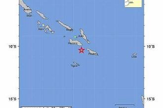 Cutremur puternic, cu magnitudinea 6,6, in largul insulelor Solomon