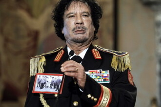 Colonelul Ghaddafi: