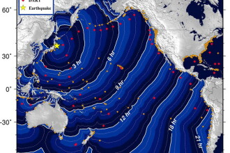 America Latina a ridicat alertele de tsunami, dupa seismul din Japonia