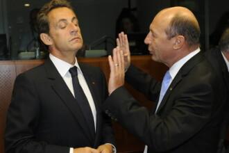 Inca o cearta Basescu-Sarkozy. Cancelarul Merkel a aplanat scandalul
