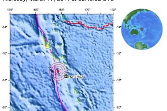 Cutremur de 6,3 in Pacific. Nu s-a dat alerta de tsunami