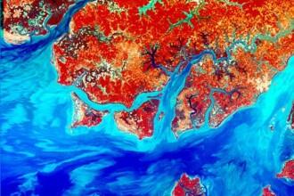 Pamantul, ca o mare de sange. Vezi cum arata radiatiile pe Terra. FOTO