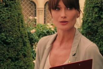 Emotii pentru prima mamica a Frantei. Carla Bruni a depasit termenul la care ar fi trebuit sa nasca