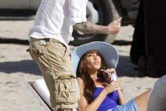 Cu nevasta gravida, David Beckham pofteste la femei voluptoase. FOTO