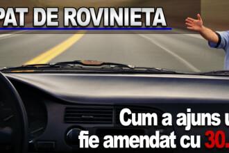 Record pentru Romania: amenzi de 30.000 de euro pentru ca nu avea rovinieta