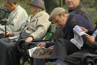 Numarul pensionarilor a scazut cu 86.000 in 2011, pensia medie lunara, 753 de lei, mai mare cu 5,2%