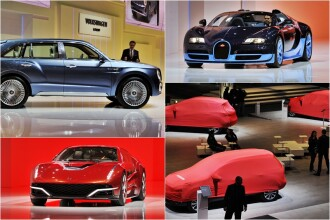 Salonul auto de la Geneva: 700 de marci isi prezinta