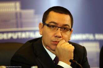 Victor Ponta: Despre salarii trebuie sa vorbeasca Ungureanu, nu Basescu