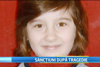 Primele sanctiuni in cazul fetitei care a murit in fosa septica. Directoare scolii a fost DEMISA