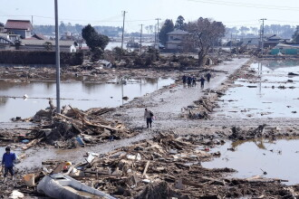 Scenariul apocaliptic inaintat de cercetatori:Japonia ar putea fi inghitita de un val de 35 de metri