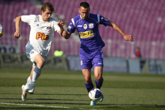 Licenta nu au rezolvat-o, dar la fotbal sunt primii. Poli Timisoara – Alro Slatina 2-0