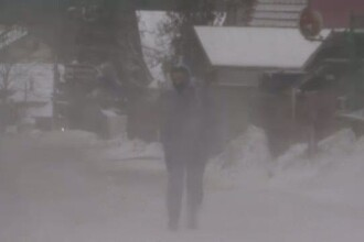Vesti proaste de la meteorologi: temperaturi de minus 26 de grade in Transilvania