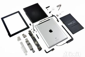 Noul iPad contine doar 20% componente electronice. Restul este o surpriza pentru toata lumea