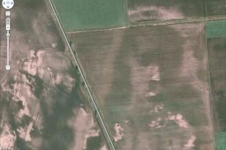 Lac de sange in Irak, chipul lui Isus pe camp. Cele mai ciudate imagini surprinse pe Google Maps