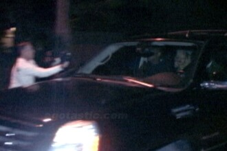 FOTO. Rihanna, surprinsa plecand la 4.00 dimineata din casa fostului partener al unei celebritati