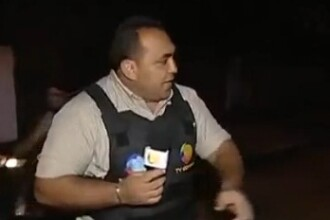 Executie in direct. Barbat impuscat in cap in timp ce reporterul transmitea LIVE la TV. VIDEO
