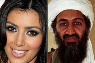 2 nume pe care nu te asteptai sa le vezi in aceeasi propozitie: Bin Laden traia ca Kim Kardashian