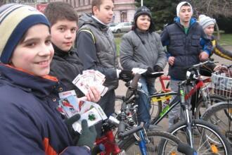 Marsul biciclistilor clujeni a ajuns la cea de-a noua editie
