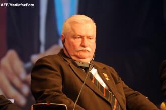 Lech Walesa: Deputatii homosexuali ar trebui sa stea in ultimul rand sau in afara Parlamentului