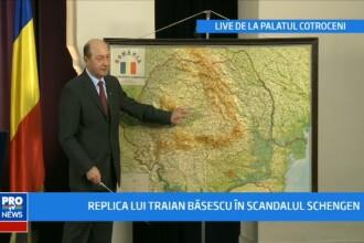Presedintele Traian Basescu a
