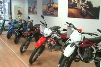 Afacerile cu scutere din Romania risca sa dea faliment.