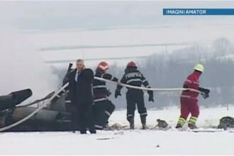 Supravietuitorii accidentului aviatic din Bacau vor avea nevoie de ingrijiri medicale timp de o luna