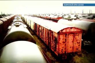 Falimentul CFR Marfa. Vagoanele de 10 milioane de euro care zac sub rugina. Au fost cumparate desi nici macar nu incap in tuneluri