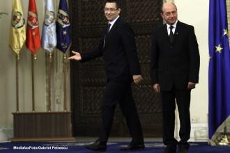 Basescu si Ponta se parasc reciproc la Curtea Constitutionala.