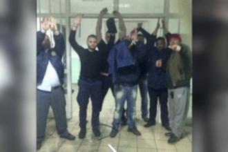Teroare intr-o inchisoare din Grecia. Un detinut a luat 6 ostatici si a amenintat cu grenada