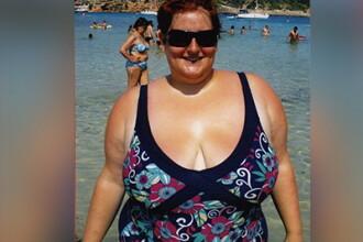 """Imi era sila sa ma privesc in oglinda"". Femeia arata ca un top model dupa ce a slabit 76 de kg"