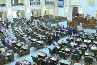 Legea amnistierii a fost scoasa de pe ordinea de zi a Camerei Deputatilor