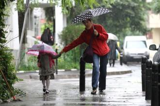 Prognoza meteo pe CINCI LUNI: pana in mai nu scapam de ploi, apoi seceta extrema. Cand vine canicula