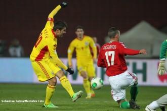 UNGARIA - ROMANIA 2-2. Mutu a inscris din penalty, iar Chipciu a egalat la ultima faza a meciului