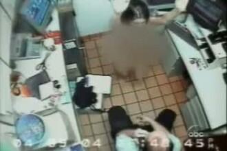 FOTO. O angajata de la McDonald's, dezbracata si abuzata sexual pentru ca ar fi furat o geanta