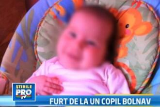 Caz incredibil in Romania. Cum a furat o tanara donatiile pentru un bebelus bolnav de cancer