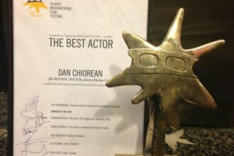 Un actor al Nationalului din Cluj, declarat <b>Cel mai </b>bun actor la Vilnius International Film Festival