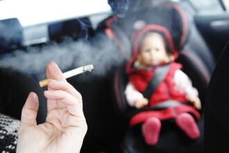 Un senator francez cere interzicerea fumatului in masini in prezenta copiilor